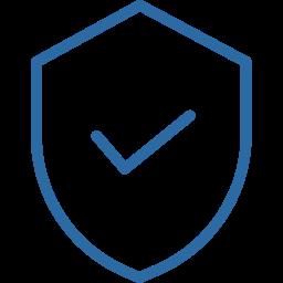 ícone escudo proteger